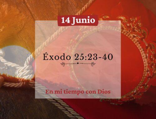 En mi tiempo con Dios de hoy. Éxodo 25: 23-40